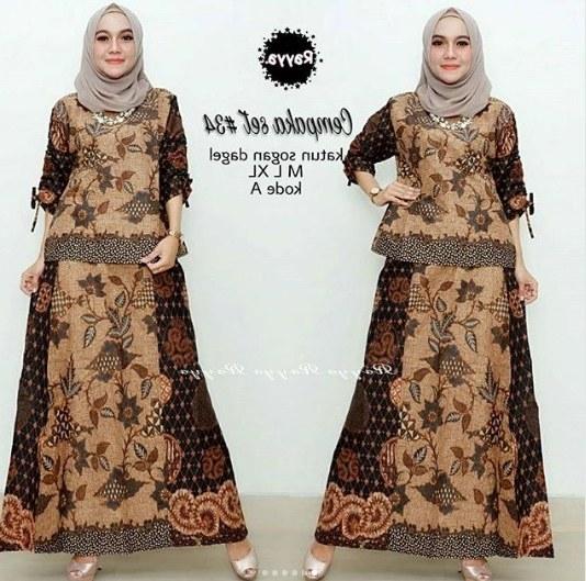 Bentuk Gamis Pernikahan Modern Rldj Kumpulan Gambar Model Baju Batik Wanita Untuk Pesta