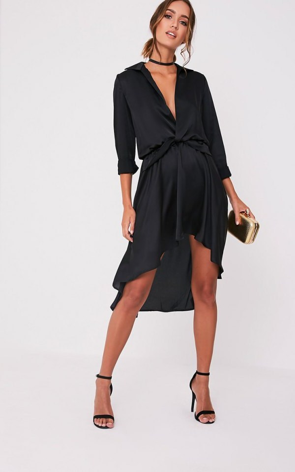 Bentuk Gamis Pernikahan Muslimah 3ldq Best Dress Black