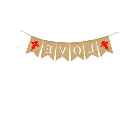 Bentuk Gamis Pernikahan O2d5 Amazon Love Banner Burlap Bunting Banner Garland Flags