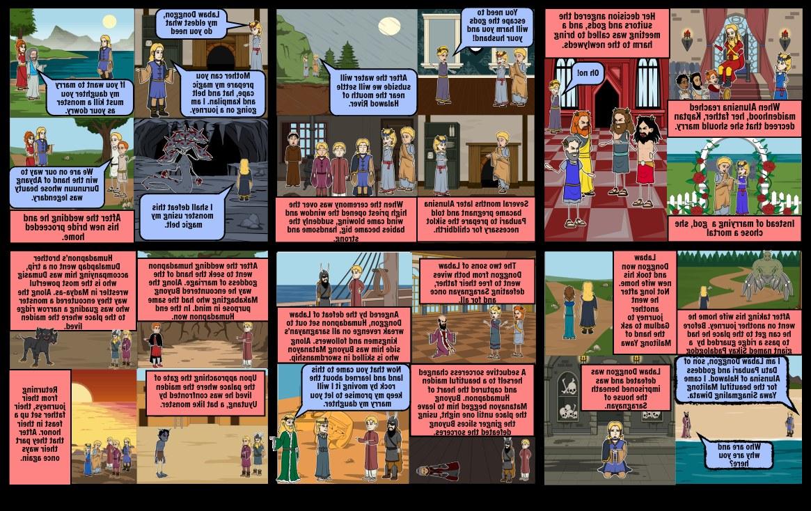 Bentuk Gamis Pernikahan Wddj the Hinilawod Story Storyboard by Fayelucy