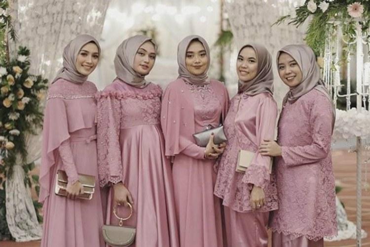 Bentuk Inspirasi Bridesmaid Hijab Ffdn Bridesmaid Hijab Dress – Fashion Dresses