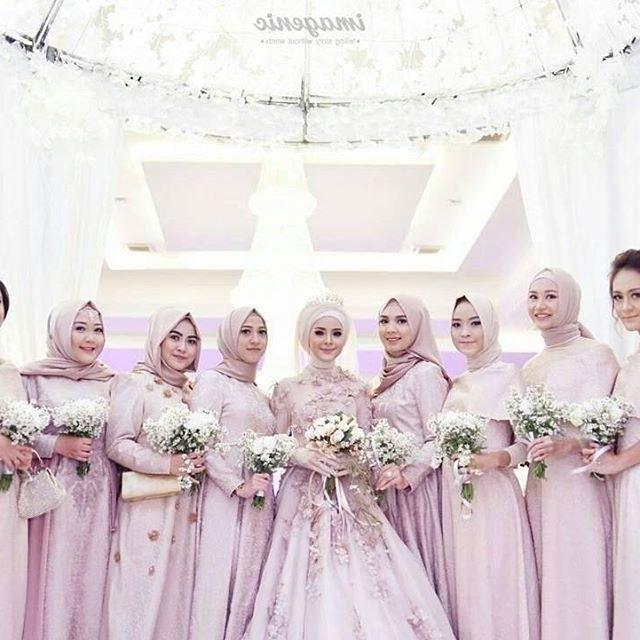 Bentuk Inspirasi Bridesmaid Hijab Fmdf Rafika Devi Rafikawintersonata On Pinterest