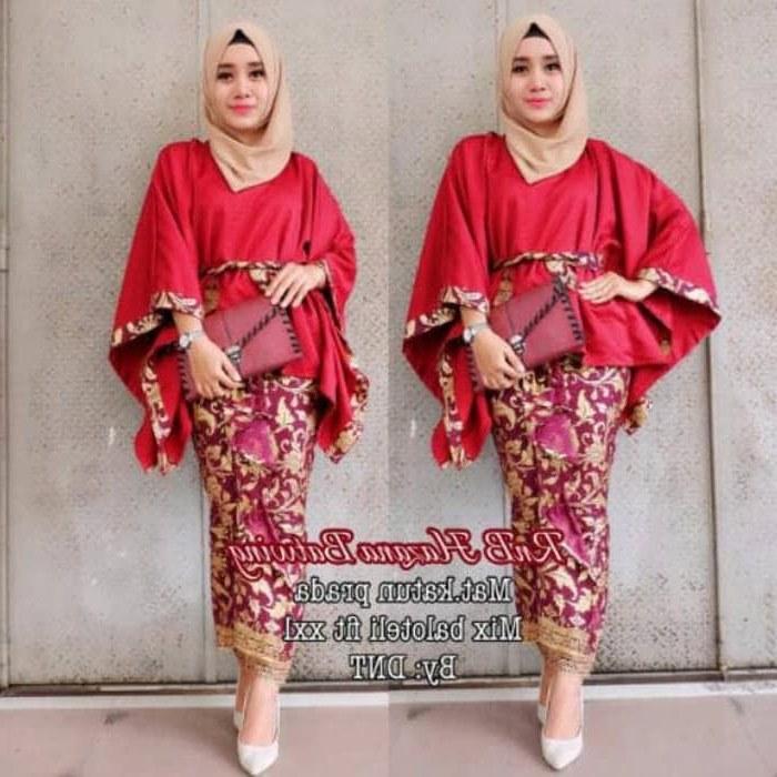 Bentuk Kebaya Bridesmaid Hijab Modern Bqdd Jual Baju Pesta Setelan Batik Setelan Kebaya Modern Rabbani atasan Jumbo Dki Jakarta Deastore9