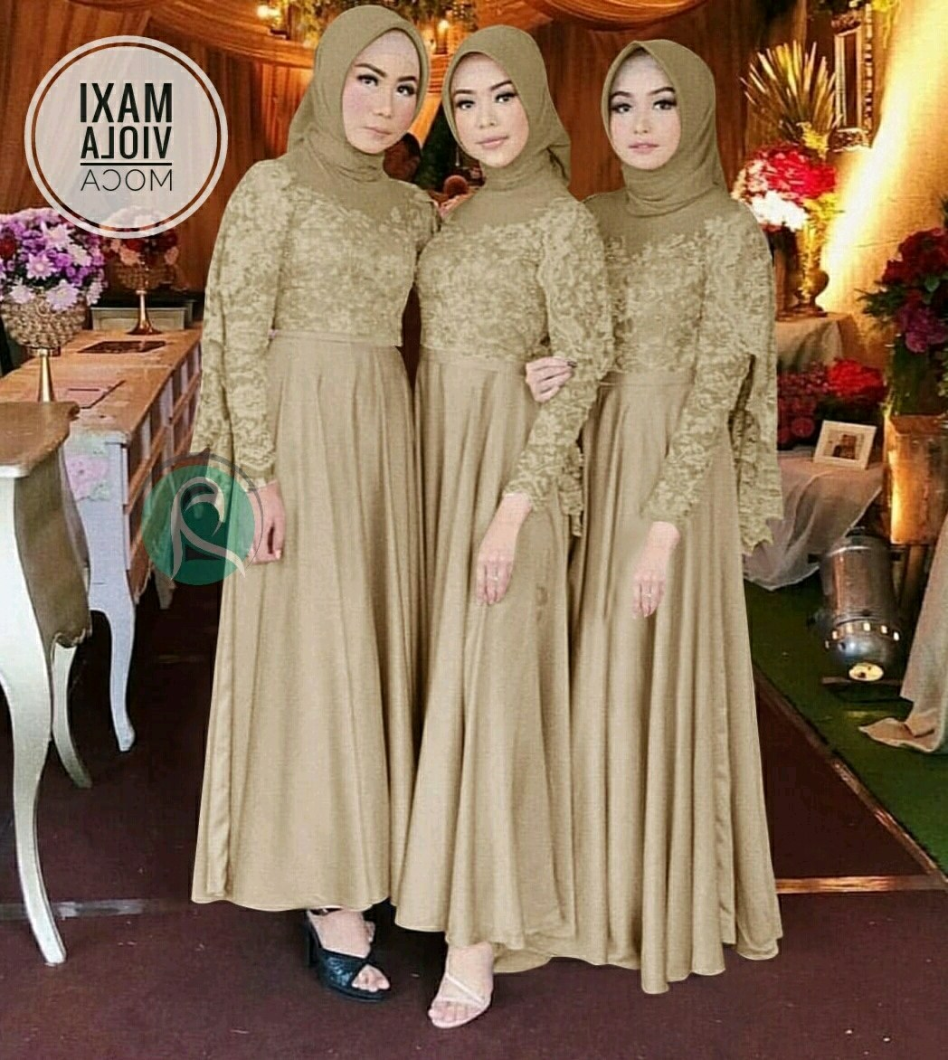Bentuk Model Baju Bridesmaid Hijab Brokat Fmdf Bridesmaid Hijab Dress – Fashion Dresses