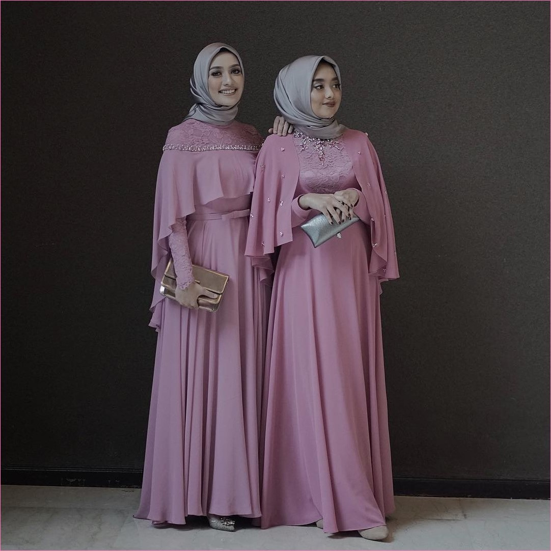 Bentuk Model Baju Bridesmaid Hijab Brokat S5d8 Bridesmaid Hijab Dress – Fashion Dresses