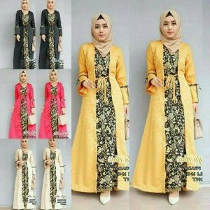 Bentuk Model Baju Gamis Untuk Pesta Pernikahan 3id6 55 Baju Pesta Batik Muslimah Paling Mewah Nan Elegan
