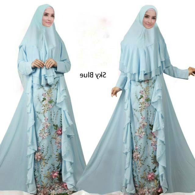 Bentuk Model Gamis Untuk Resepsi Pernikahan H9d9 30 Model Baju Gamis Pesta Pernikahan Modern Fashion