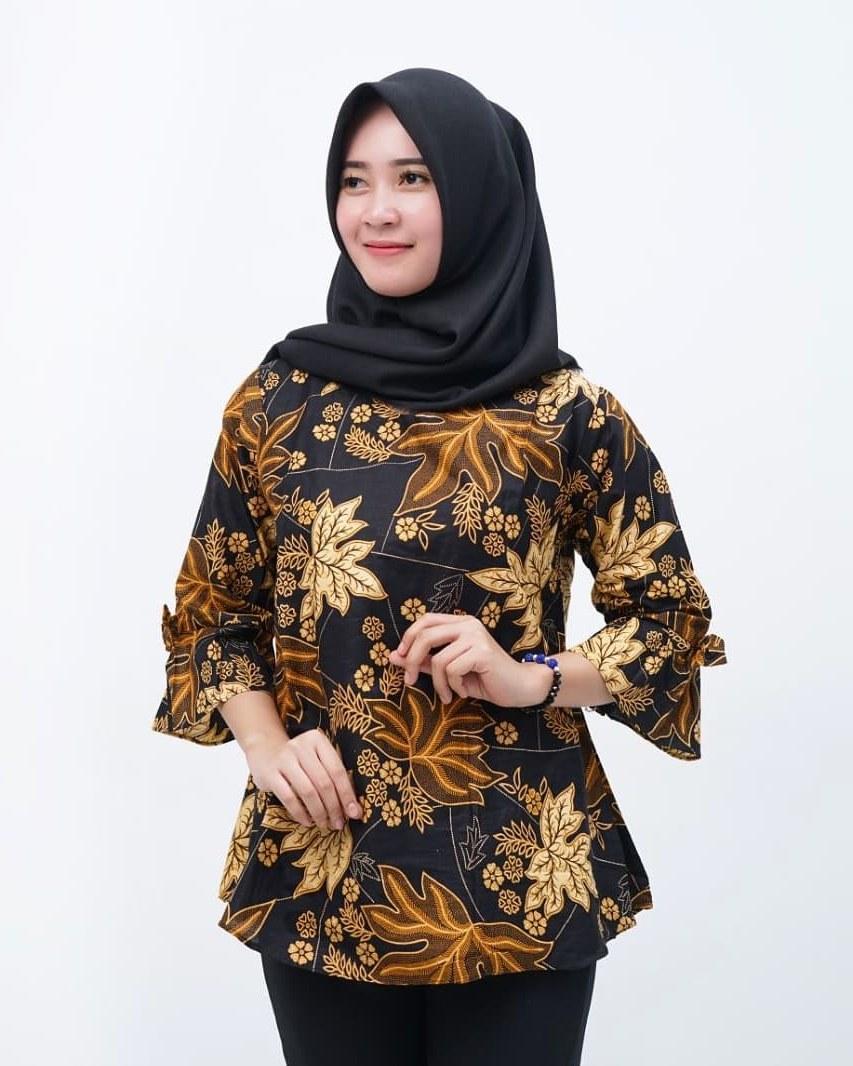 Bentuk Model Gamis Untuk Resepsi Pernikahan Y7du 101 Model Baju Batik Terbaru Nazeefah