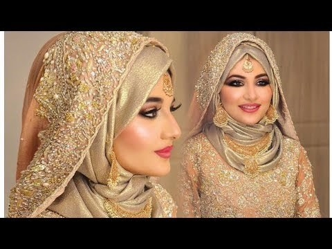 Design Bridesmaid Dresses Hijab 8ydm Videos Matching Hijab Tutorial for Wedding Bride with