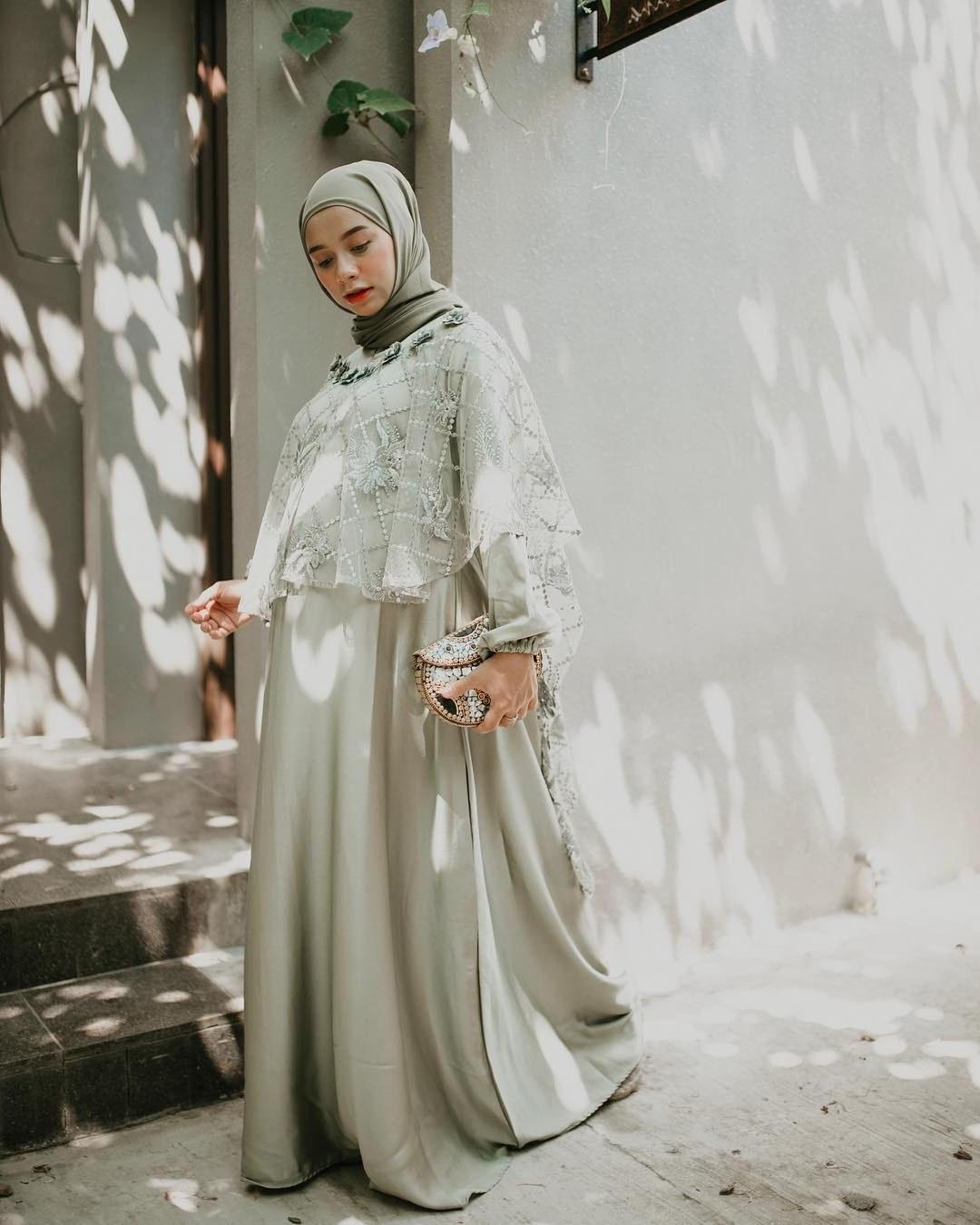 Design Model Baju Gamis Untuk Resepsi Pernikahan Ftd8 60 Model Gamis Syar I Modern Remaja Simple Polos 2020