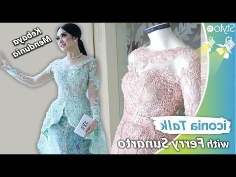 Design Model Gamis Untuk Pernikahan U3dh Videos Matching Model Baju Kebaya Modern Ala Syahrini