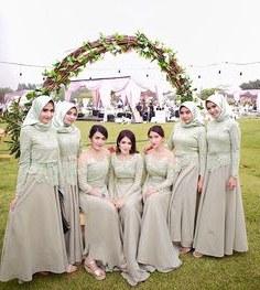 Design Seragam Gamis Pernikahan Irdz 340 Best Indonesian Wedding Inspiration Images In 2019