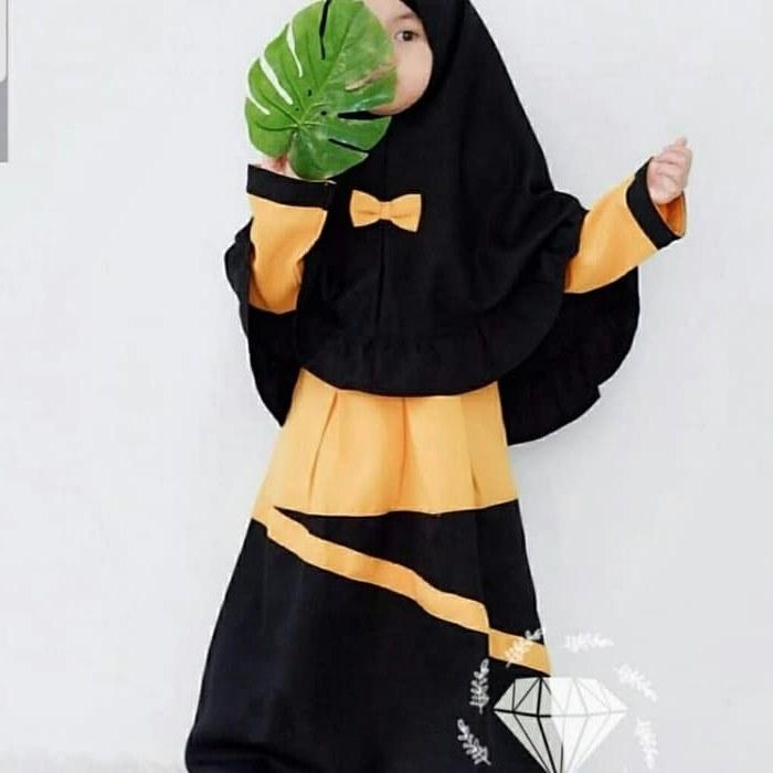 Design Seragam Gamis Pernikahan Qwdq Jual Od 2 Wrn Syari Kid Yumna Gamis Baju Busana Muslim Anak Perempuan Canti Dki Jakarta Ferisna Os