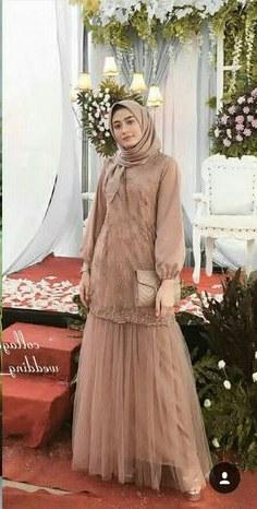 Design Seragam Gamis Untuk Pernikahan Drdp 182 Best Hijab Dress Party Images In 2019