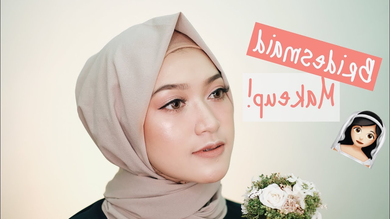 Ide Bridesmaid Hijab Styles Dwdk Makeup Bridesmaid Hijab