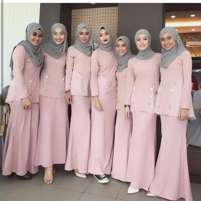 Ide Gaun Bridesmaid Hijab 4pde Bridesmaid Hijab Dress – Fashion Dresses