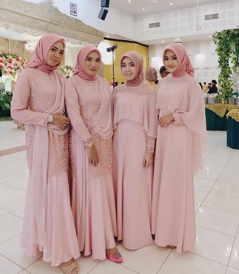 Ide Gaun Bridesmaid Hijab Fmdf List Of Gaun Kebaya Gowns Bridesmaid Dresses Images and Gaun