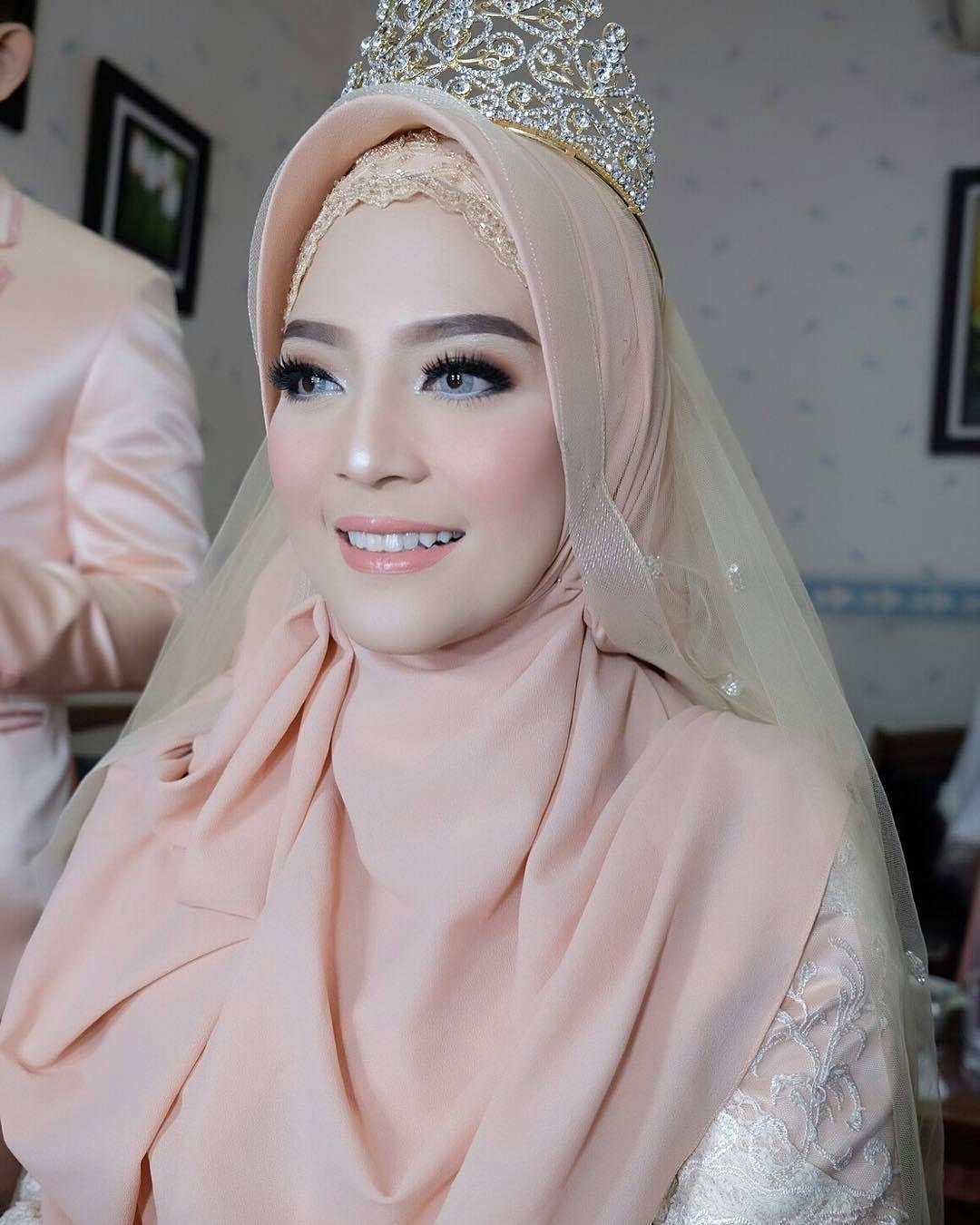 Ide Gaun Bridesmaid Hijab Irdz Makeup Bridesmaid Hijab