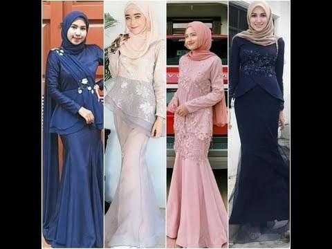 Ide Inspirasi Gaun Bridesmaid Hijab Ipdd Videos Matching Inspirasi Kekinian Gaun Kebaya Pesta Mermaid
