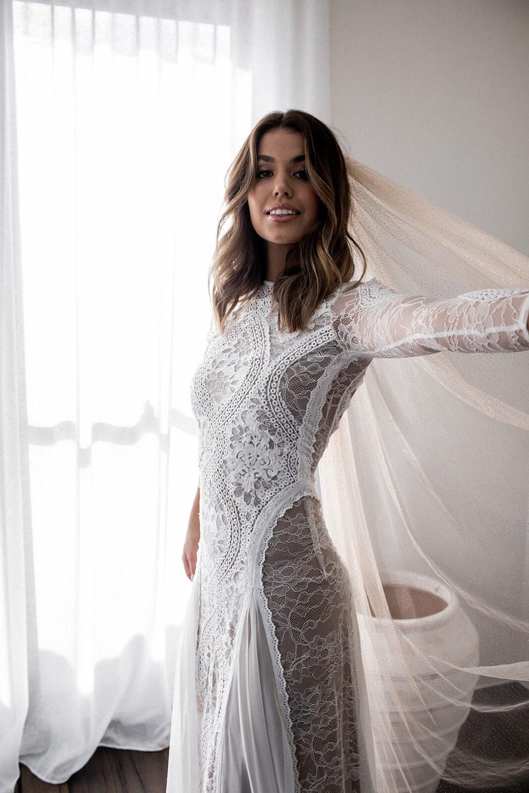 Ide Long Dress Bridesmaid Hijab Budm Inca