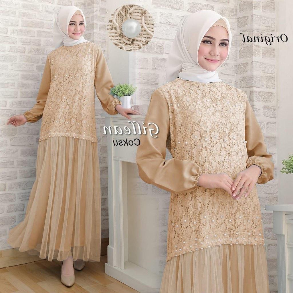 Ide Model Baju Gamis Untuk Pernikahan Nkde Foto Model Baju Gamis 2019