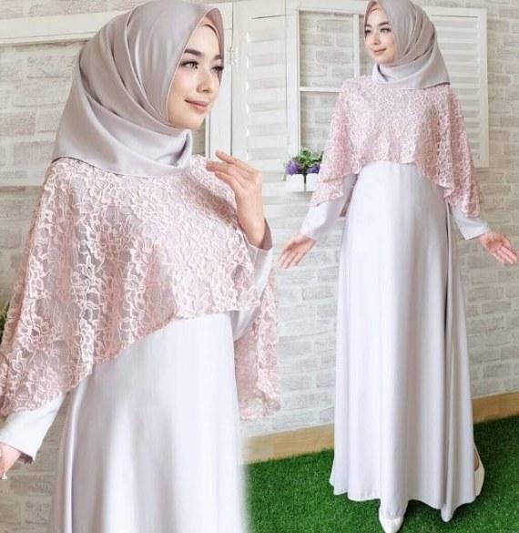 Ide Model Gamis Untuk Pesta Pernikahan 3id6 Ide 24 Model Baju Gamis Pesta Pernikahan