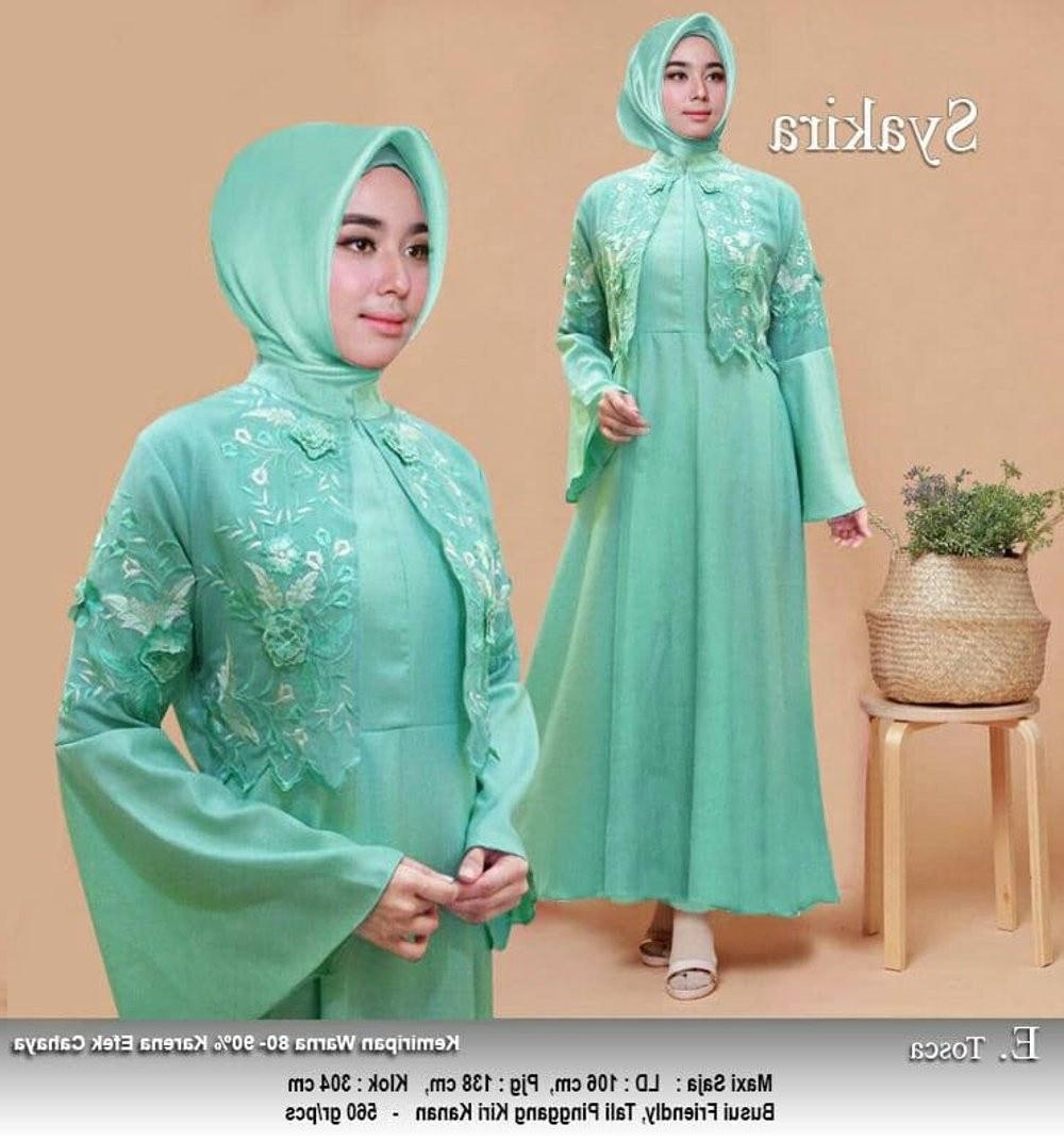Ide Model Gamis Untuk Pesta Pernikahan 87dx Jual Baju Gamis Ke Pesta