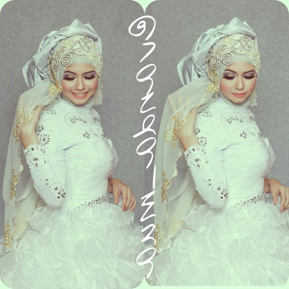 Inspirasi Bridesmaid Indonesia Hijab Bqdd Vanda Mua Moslem Wedding Dress T Hijab Bride