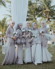 Inspirasi Bridesmaid Indonesia Hijab J7do 104 Best Bridesmaid Dress Images In 2019