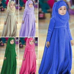 Inspirasi Bridesmaid Indonesia Hijab Jxdu 2019 Muslim Kids Dresses Flowers Girls Children Dubai Arabic Malaysia Indonesia Hijab Dress Kaftan Bangladesh Turkey Vestidos Uae