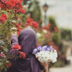 Inspirasi Bridesmaid Indonesia Hijab Zwdg Hijab Back Flower