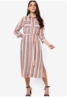 Inspirasi Desain Baju Bridesmaid Hijab Thdr Buy Cotton Woven Missy Utility Midi Slip Dress Line On