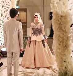 Inspirasi Gamis Untuk Resepsi Pernikahan 9fdy Siska Dwi Ciefen02 Di Pinterest