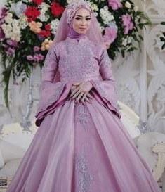 Inspirasi Gamis Untuk Resepsi Pernikahan Ffdn Siska Dwi Ciefen02 Di Pinterest