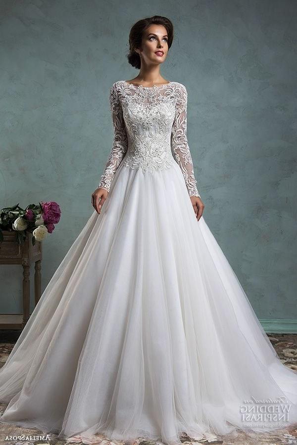 Inspirasi Hijab Bridesmaid Dress D0dg Lace Long Sleeve Wedding Gowns Best Stunning High Collar