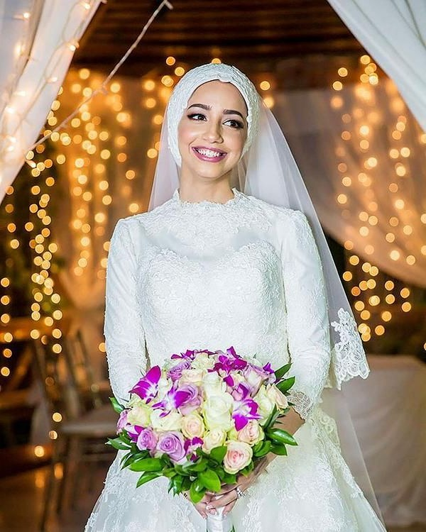 Inspirasi Hijab Bridesmaid Dress Gdd0 Hijab Wedding Beautiful Stunning islamic Hijab Wedding