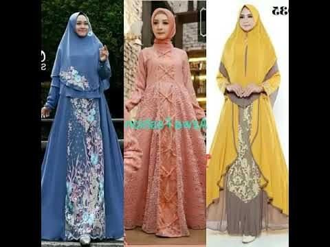 Inspirasi Model Baju Gamis Pernikahan E6d5 Tren Model Baju Muslim Hijab Untuk Lebaran Terbaru 2019 In