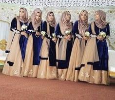 Model Bridesmaid Hijab Batik 87dx 143 Best Hijabi Bridesmaids Images In 2019
