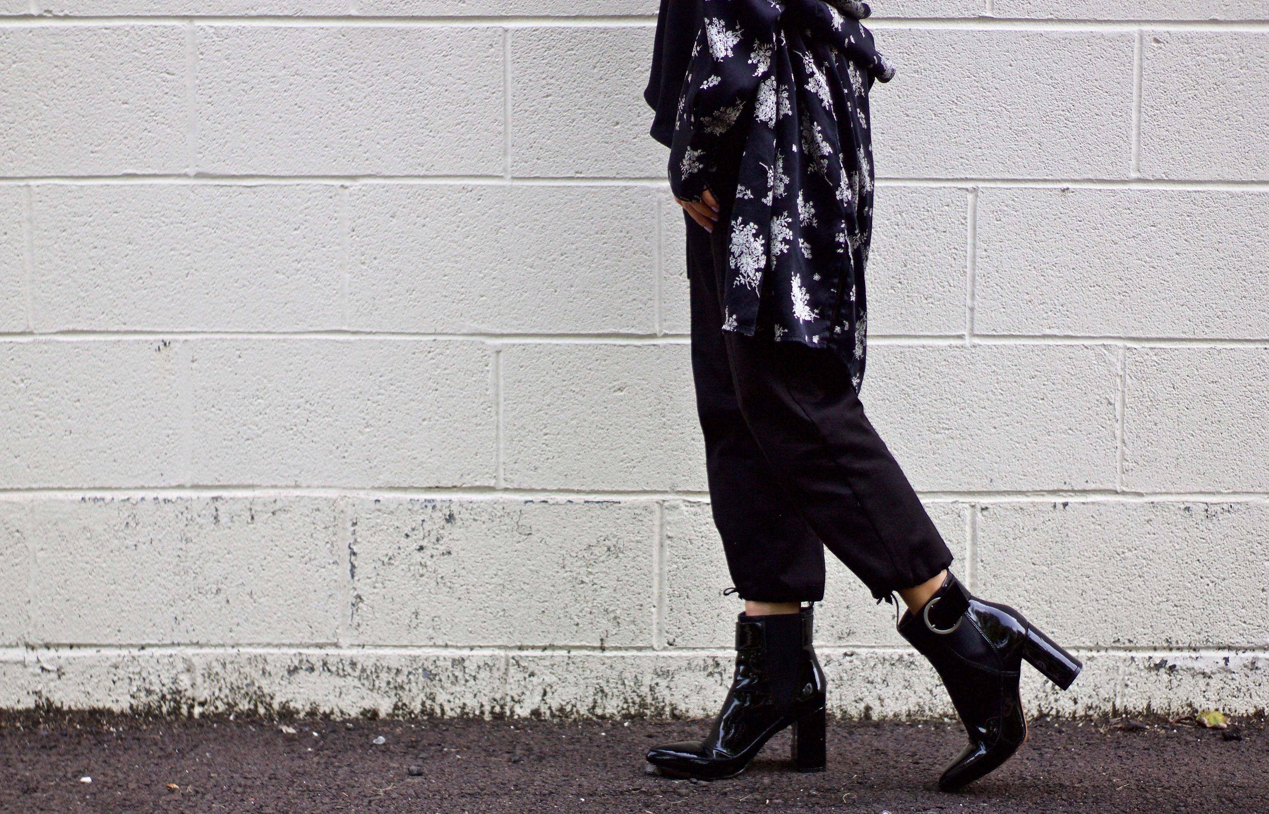 Model Bridesmaid Hijab Batik Fmdf Fall Wardrobe Staple Black Ankle Boots Enclothed Cognition