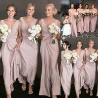 Model Bridesmaid Hijab Batik Whdr Silk Satin Sheath Wedding Dresses Line Shopping