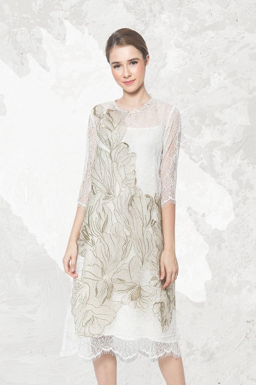Model Bridesmaid Hijab Batik Xtd6 Dresshaus