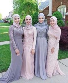 Model Design Bridesmaid Hijab 4pde 143 Best Hijabi Bridesmaids Images In 2019