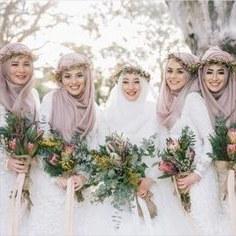 Model Design Bridesmaid Hijab Etdg 143 Best Hijabi Bridesmaids Images In 2019
