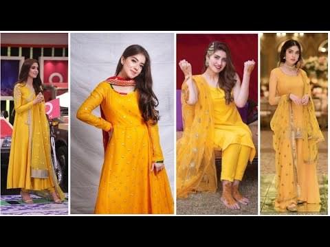 Model Design Bridesmaid Hijab Fmdf Videos Matching Latest Stylish Mayon or Ubtan Haldi