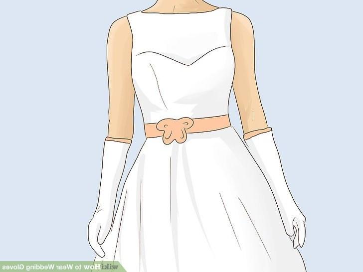 Model Design Bridesmaid Hijab U3dh 3 Ways to Wear Wedding Gloves Wikihow