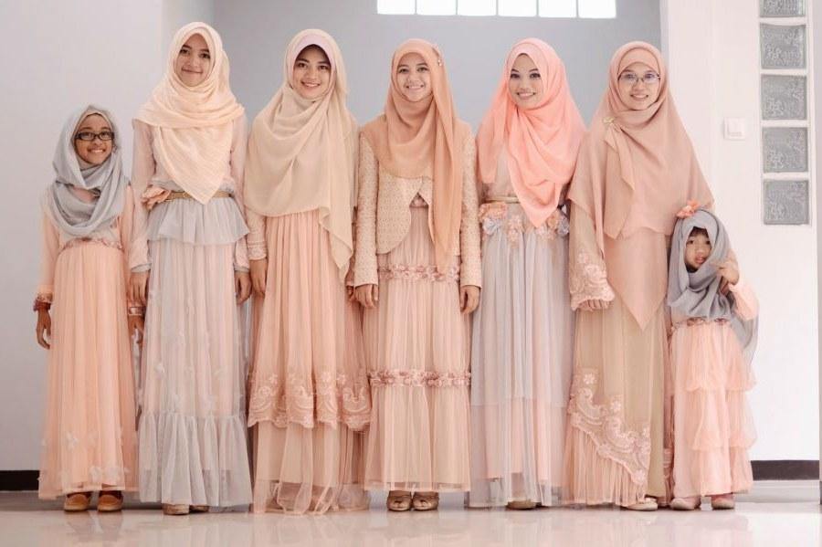 Model Gamis Syari Untuk Pesta Pernikahan Dddy Rekomendasi Baju Gamis Untuk Pesta Pernikahan Yang Modis Dan