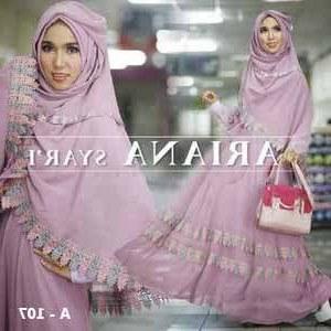 Model Gamis Syari Untuk Pesta Pernikahan O2d5 Gamis Syar I Ariana Konveksi Seragam Gamis Syar I