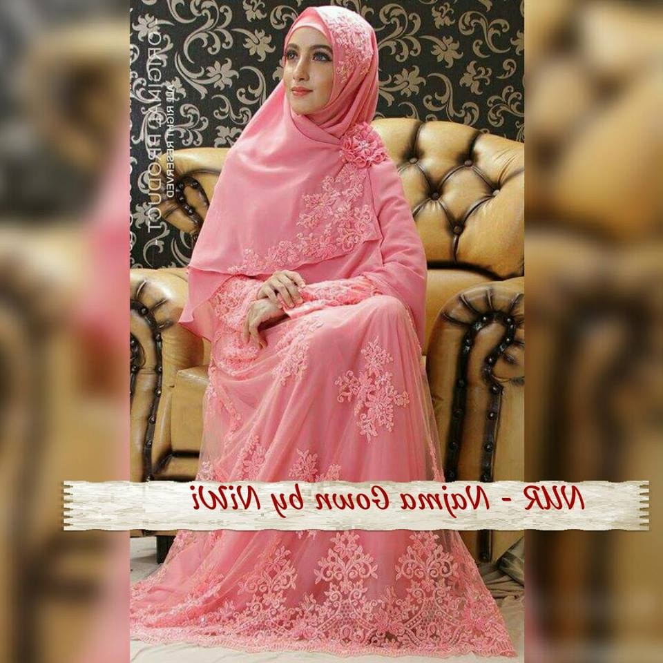 Model Gamis Syari Untuk Pesta Pernikahan Qwdq Baju Gamis Untuk Pesta Pernikahan