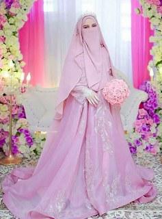 Model Gamis Syari Untuk Pesta Pernikahan Zwd9 Gamis Walimah Syar I Terbaru