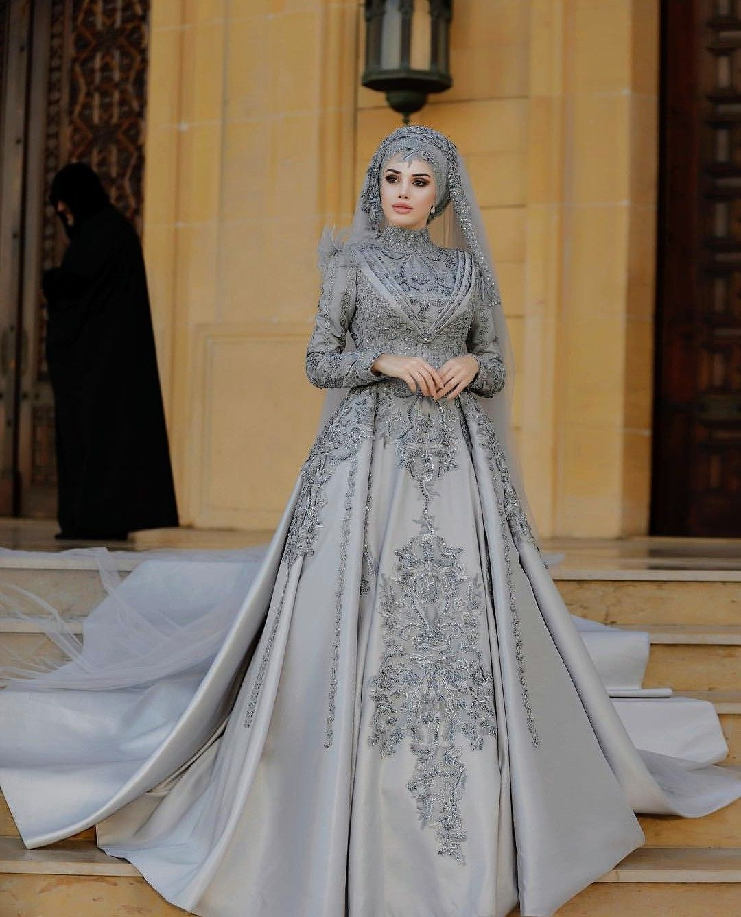 Model Hijab Bridesmaid Dresses H9d9 Pin by Nasko On Hijab Fashion In 2019